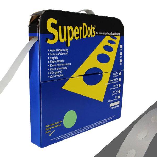 Двустранно лепилни точки Superdots